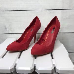 Zara classic red pump 37